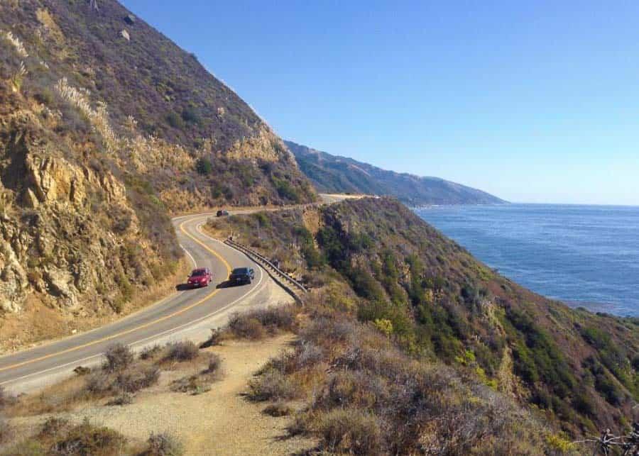 driving the PCH between LA and San Francisco
