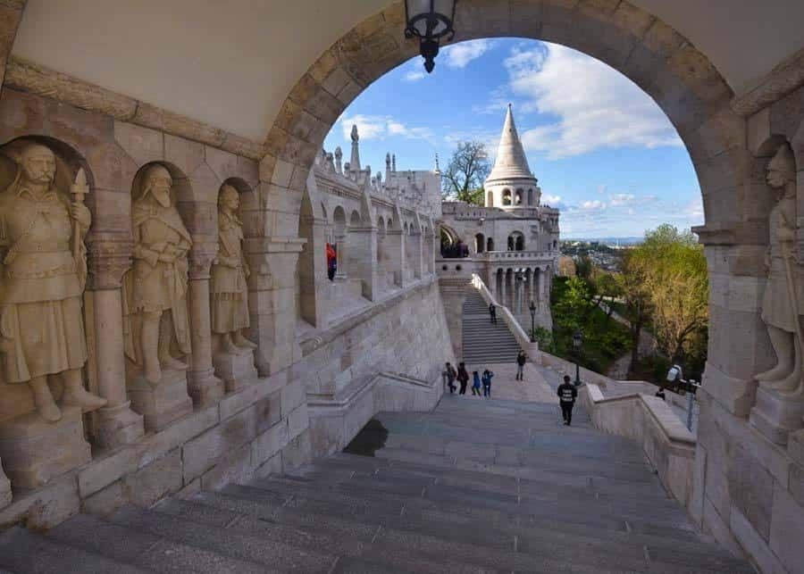 Fishermen's Bastion in Budapest Old Town