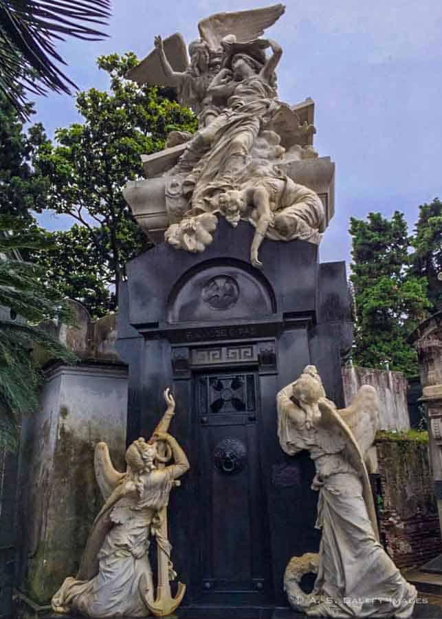 The Paz Family Mausoleum