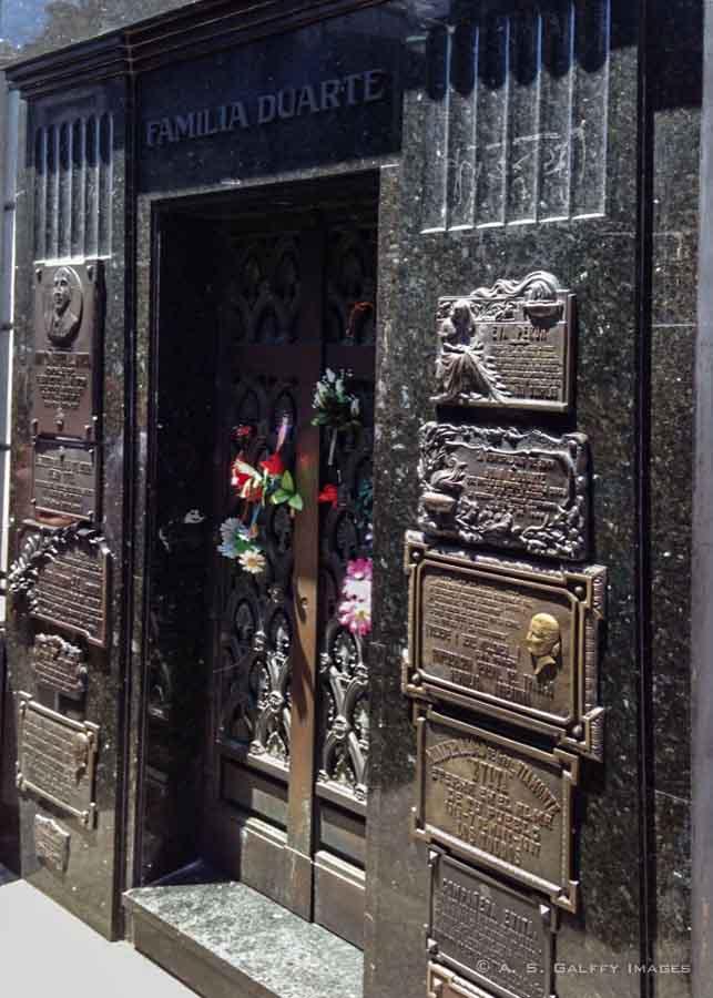 Evita's Tomb at La Recoleta