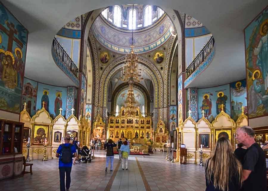 The Nativity of Christ Cathedral in Riga
