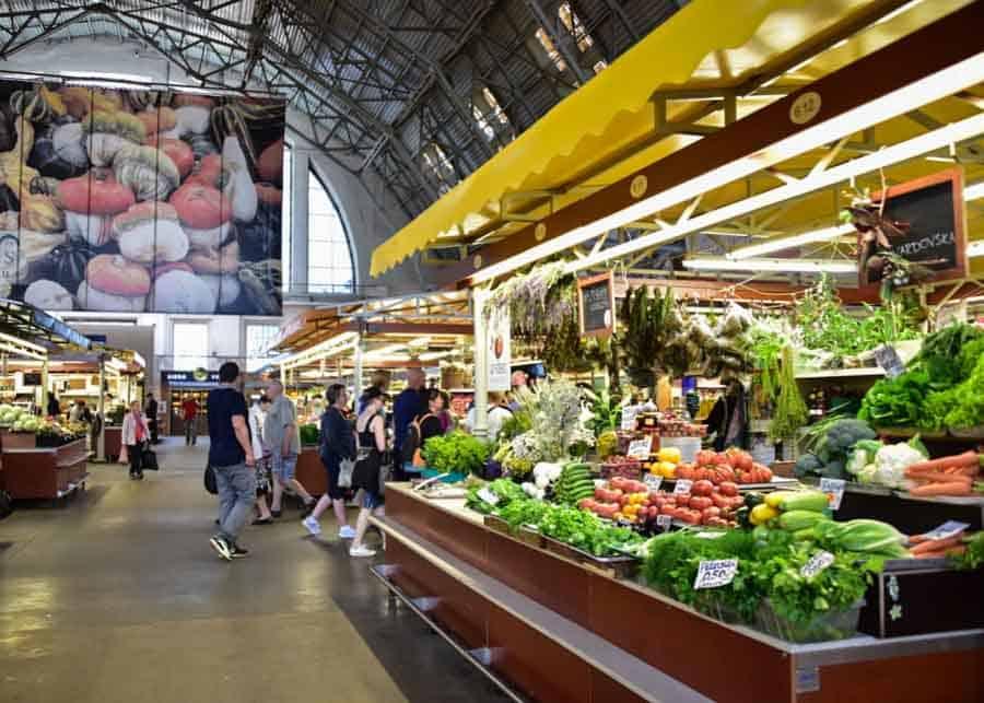 Visiting Riga's Central Market