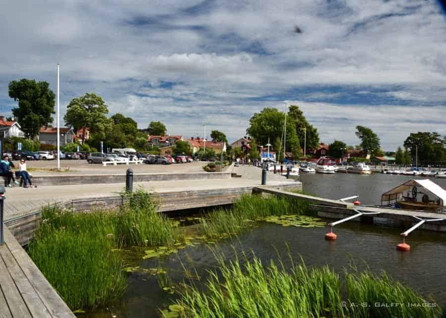 harbor area in Stragnas
