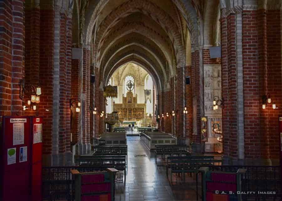 things to do in Stockholm, visiting Stragnas Cathedral