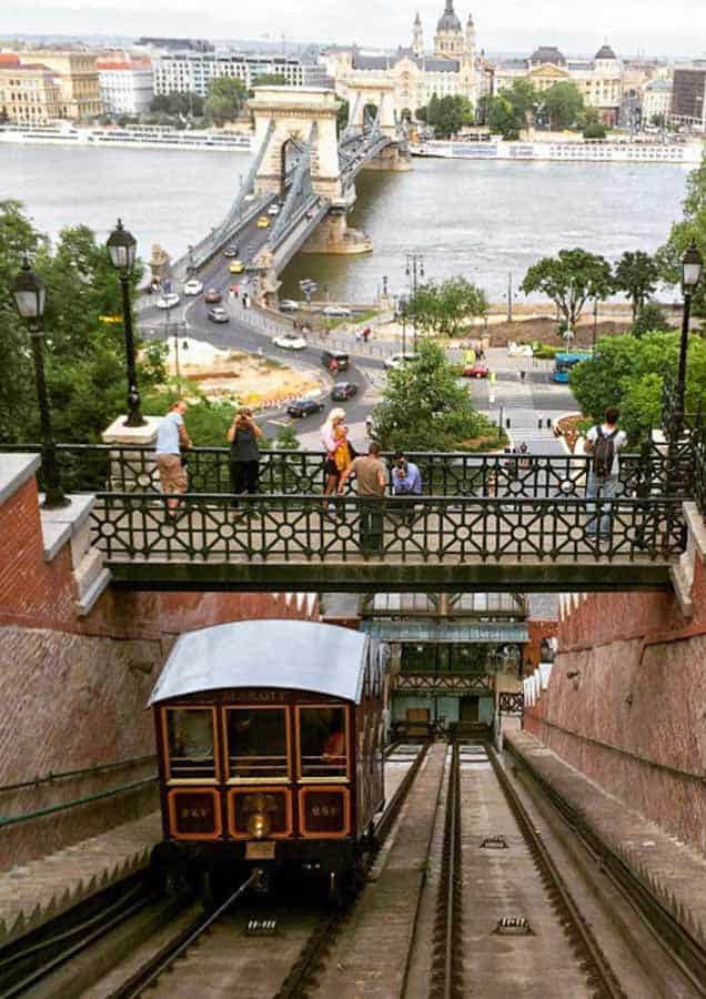 Old Town Budapest funicular