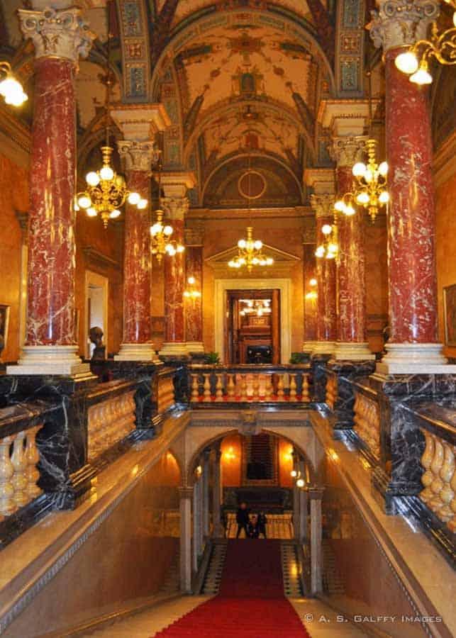 Opera House cultural venue in Budapest