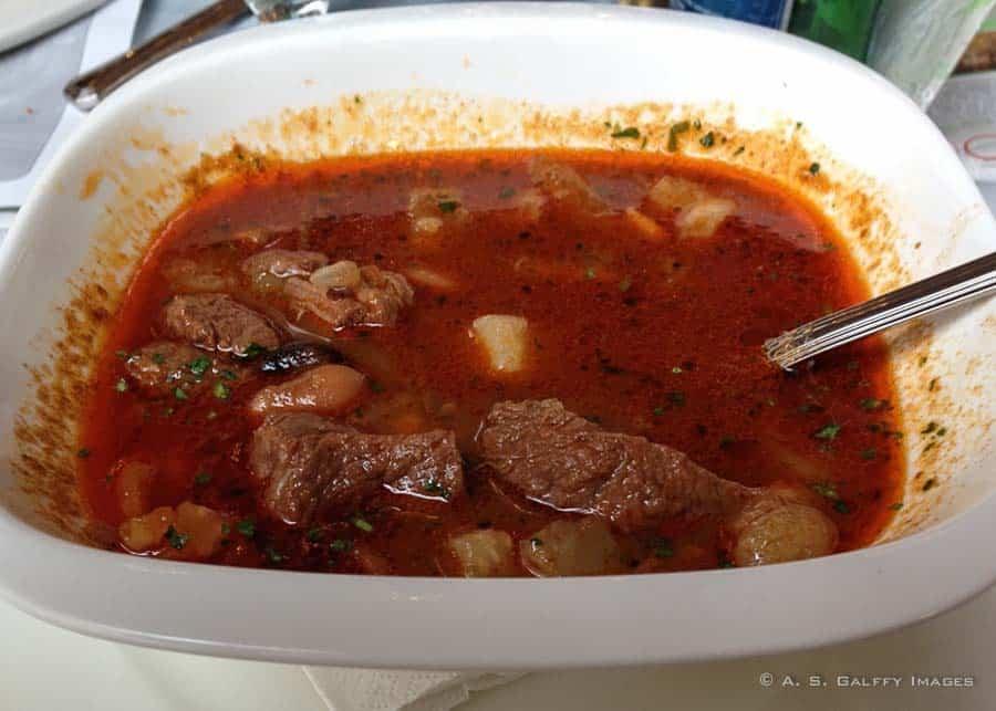 Hungarian food - Goulash