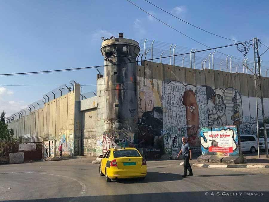 West Bank barrier wall