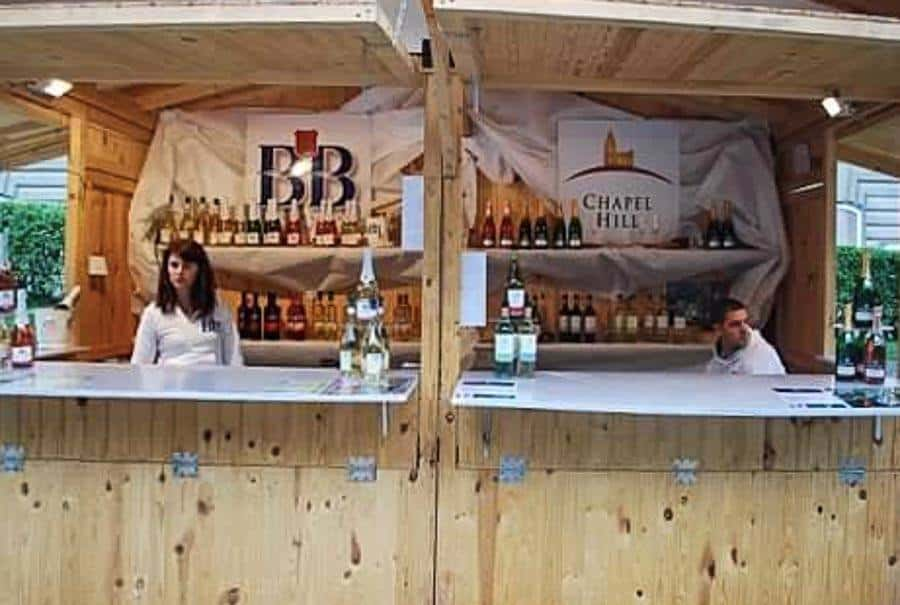 Wine producers at the Budapest Wine Festival