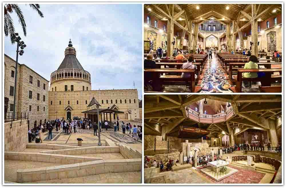 Best places to visit in Israel: Church of the Annunciation