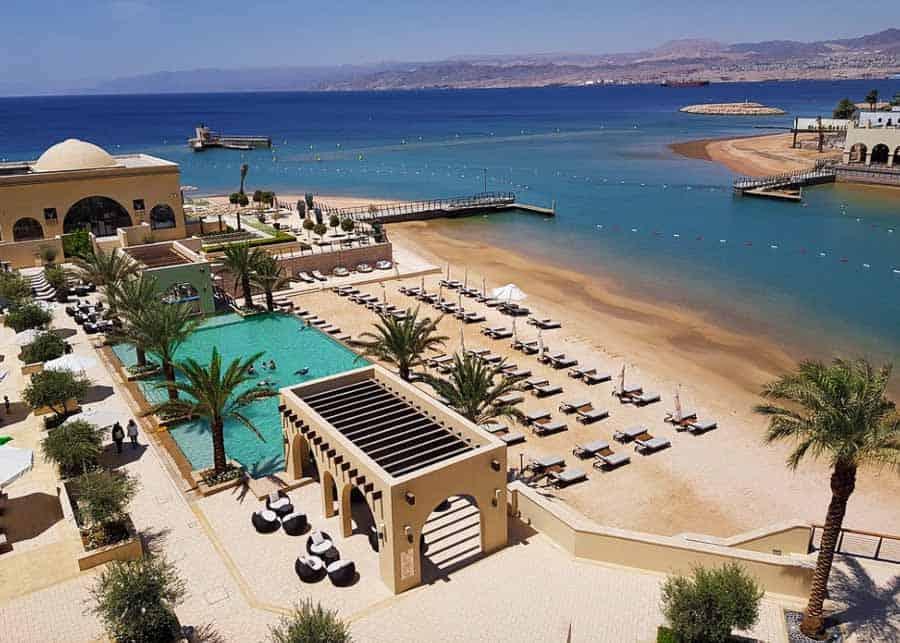 Aqaba beach Jordan Itinerary
