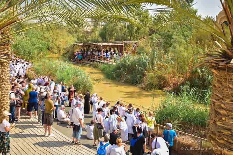 Qasr el Yahud Baptismal Site - best places to visit in Israel