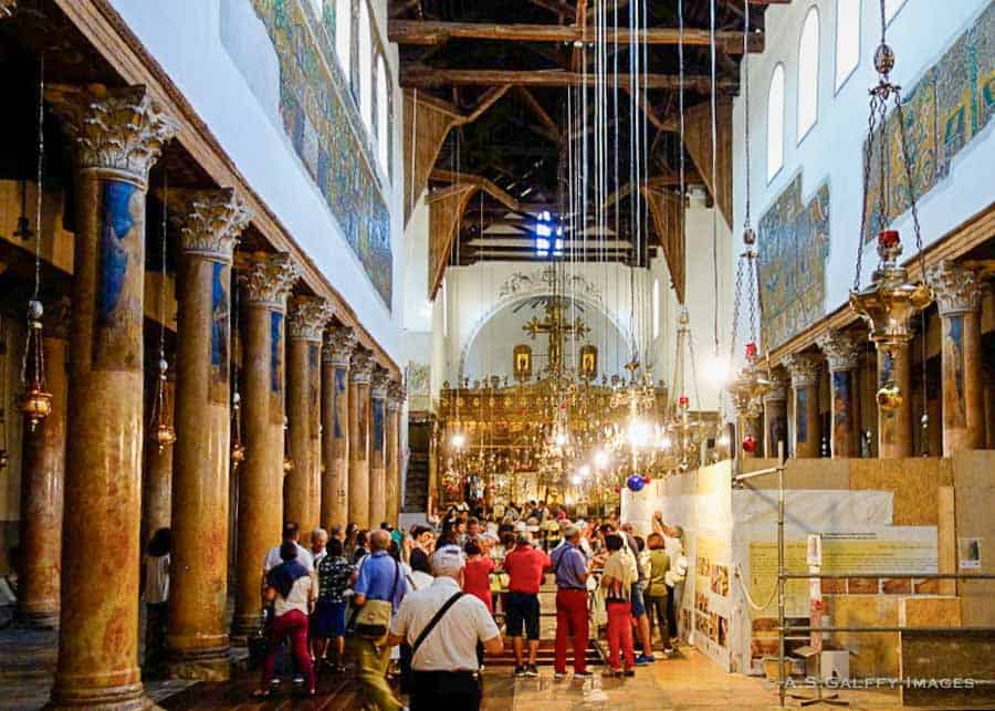 Places to visit in Israel: Church of the Nativity