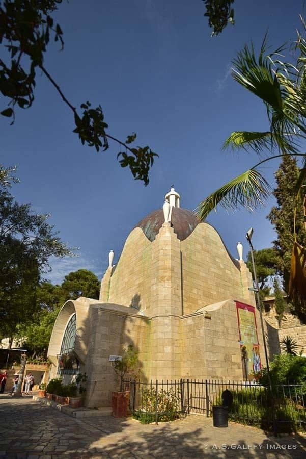 Places to Visit in Jerusalem: Dominus Flevit Church