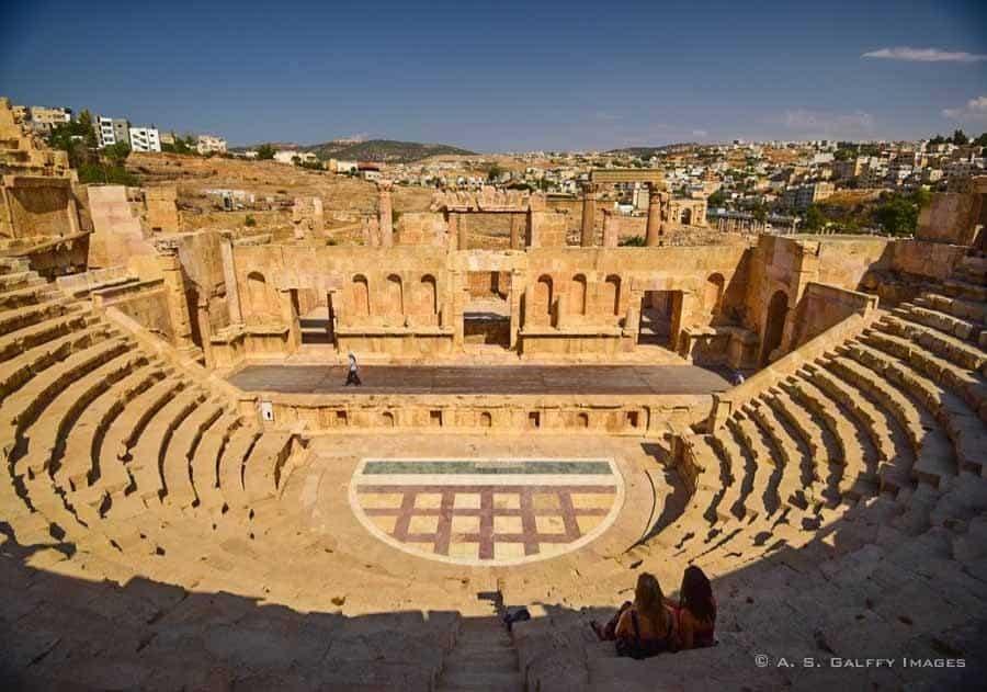 Roman Theater in Jerash