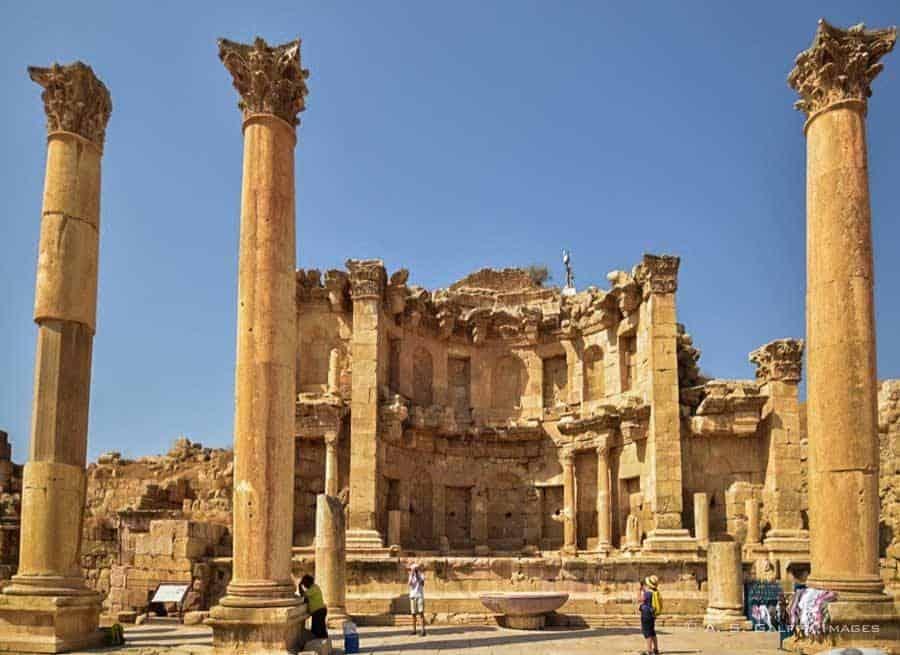 Ruins of Jerash - best places to visit in Jordan