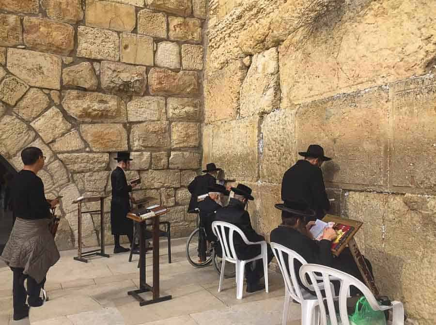 Places to visit in Jerusalem: the Wailing Wall