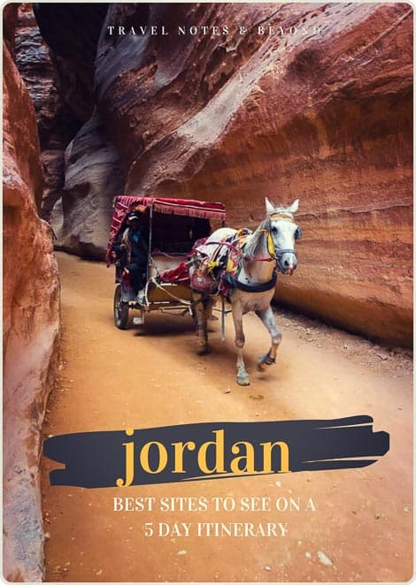 JORDAN itinerary pin