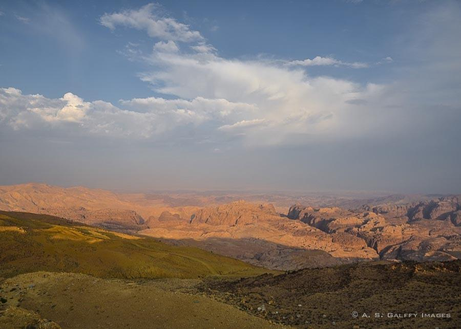 driving the King's Highway as part of the Jordan itinerary