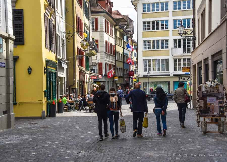 10 Days in Switzerland Itinerary: Lucerne Old Town