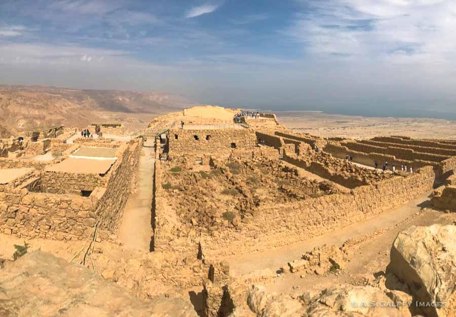 the Fortress of Masada