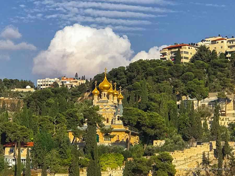 Places to visit in Jerusalem: the Church of Mary Magdalene