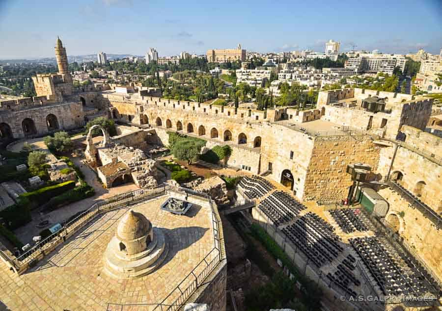 Best places to visit in Jerusalem: Tower of David citadel