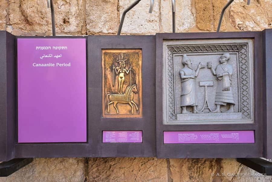 Exhibits in the Tower of David Museum