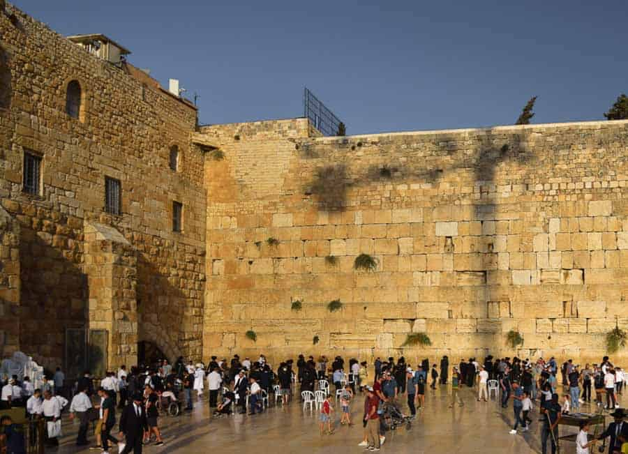 Places to visit in Jerusalem: the Western Wall