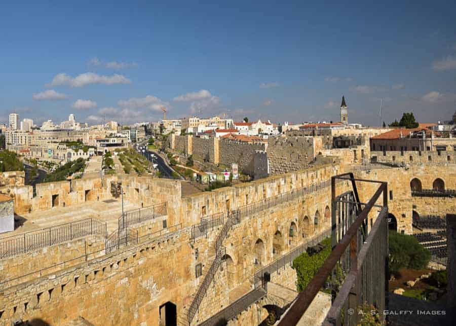 The ramparts of jerusalem