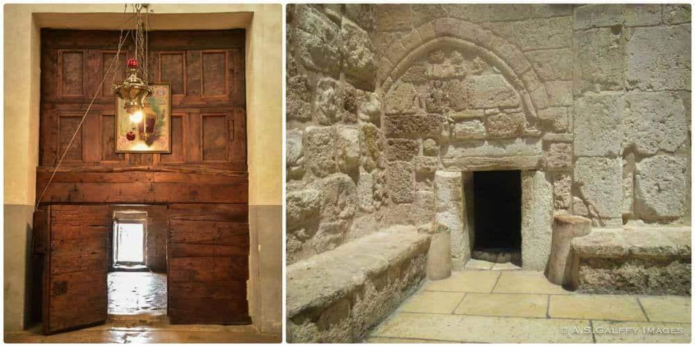 Church of the Nativity main entrance