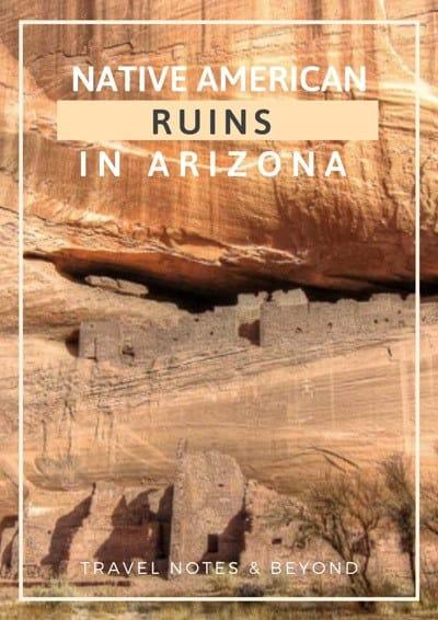 Indian ruins in arizona