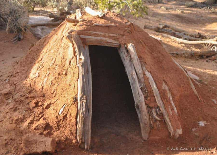 Pit houses in Arizona
