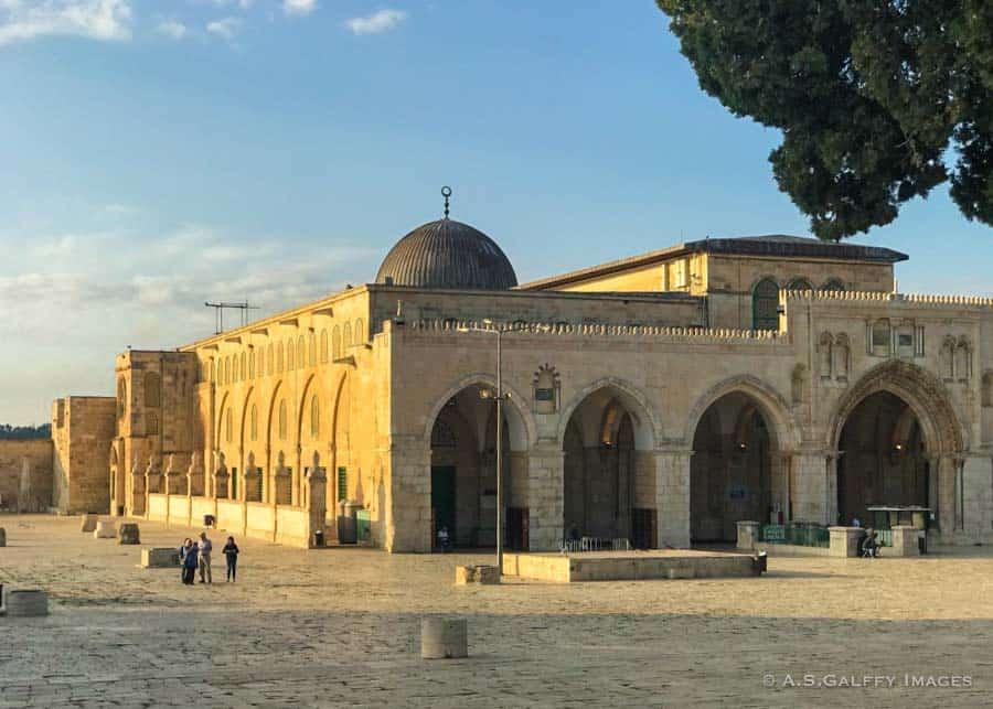Visiting Al Aqsa Mosque on Temple Mount