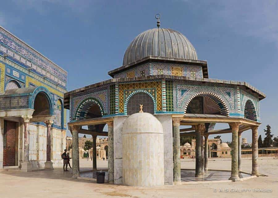 Dome of the Chain on Temple Mount