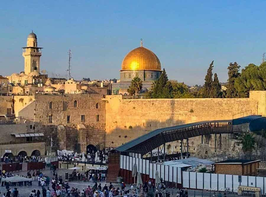 Visiting the Dome of the Rock