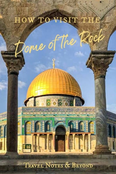 Dome of the Rock pin