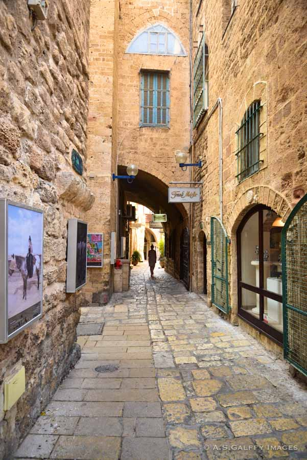 Street in Old Town Jaffa