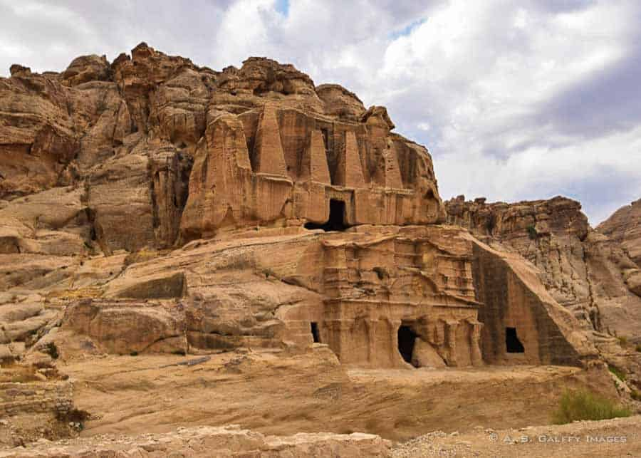 The Obelisk Tomb in Petra