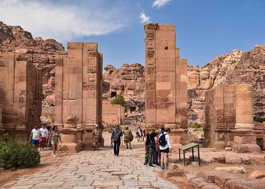 Temenos Gateway in Petra