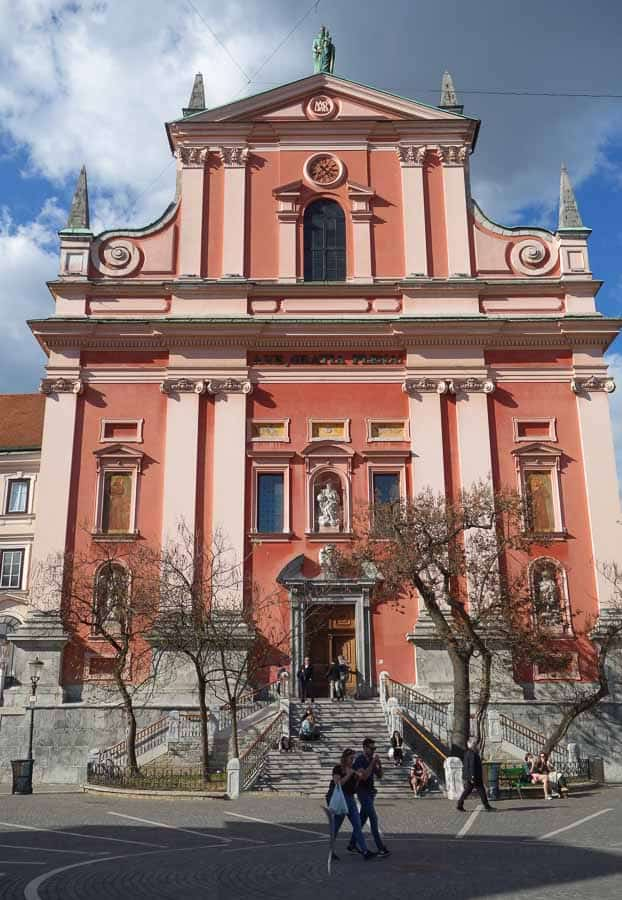 Best Places to Visit in Ljubljana - Church of the Annunciation