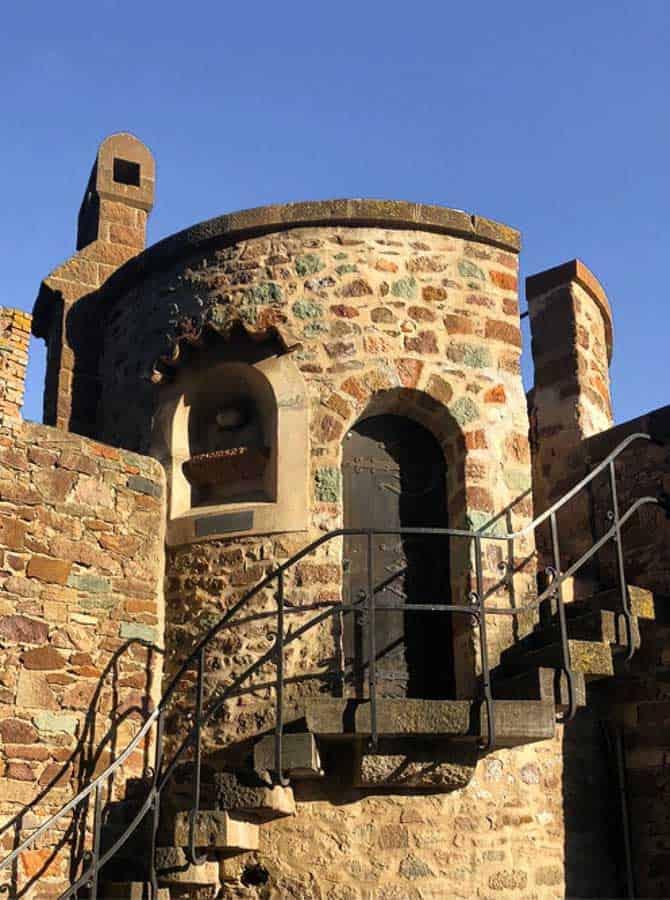 Tower at Chateau de la Napoule