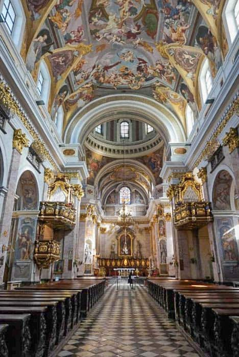 Places to visit in Ljubljana - St. Nicholas Cathedral