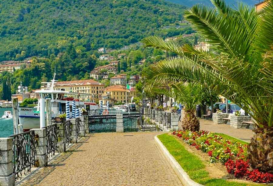 Menaggio lakeside promenade