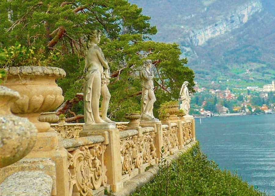 Terrace at Villa Balbianello