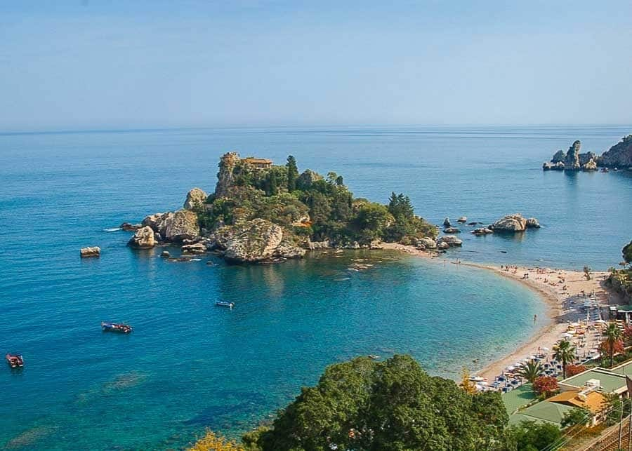 Things to do in Taormina: visit Isola Bella