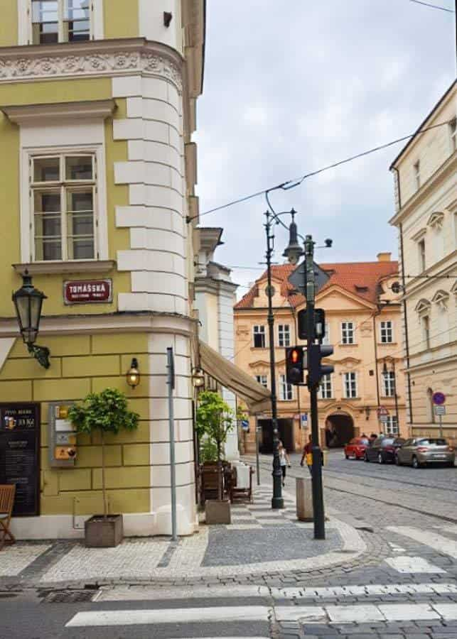 Mala Strana - Lower Town District in Prague