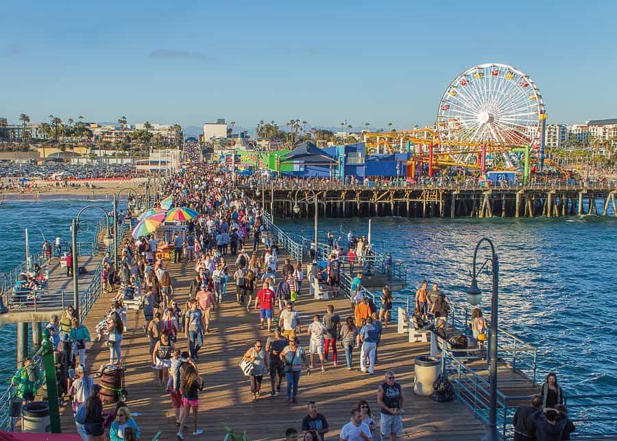 3 Days in Los Angeles: Santa Monica Pier