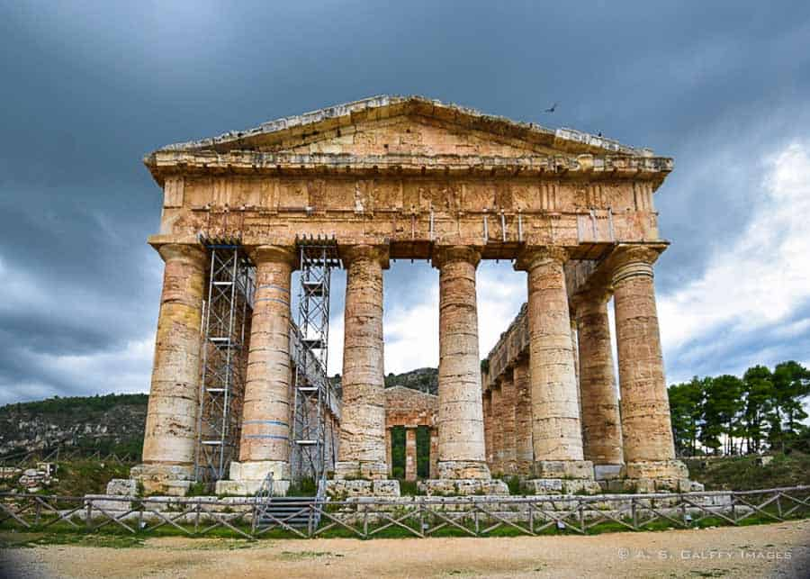 The Greet Temple at Segesta