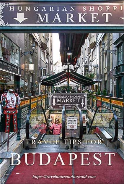 Travel tips for Budapest